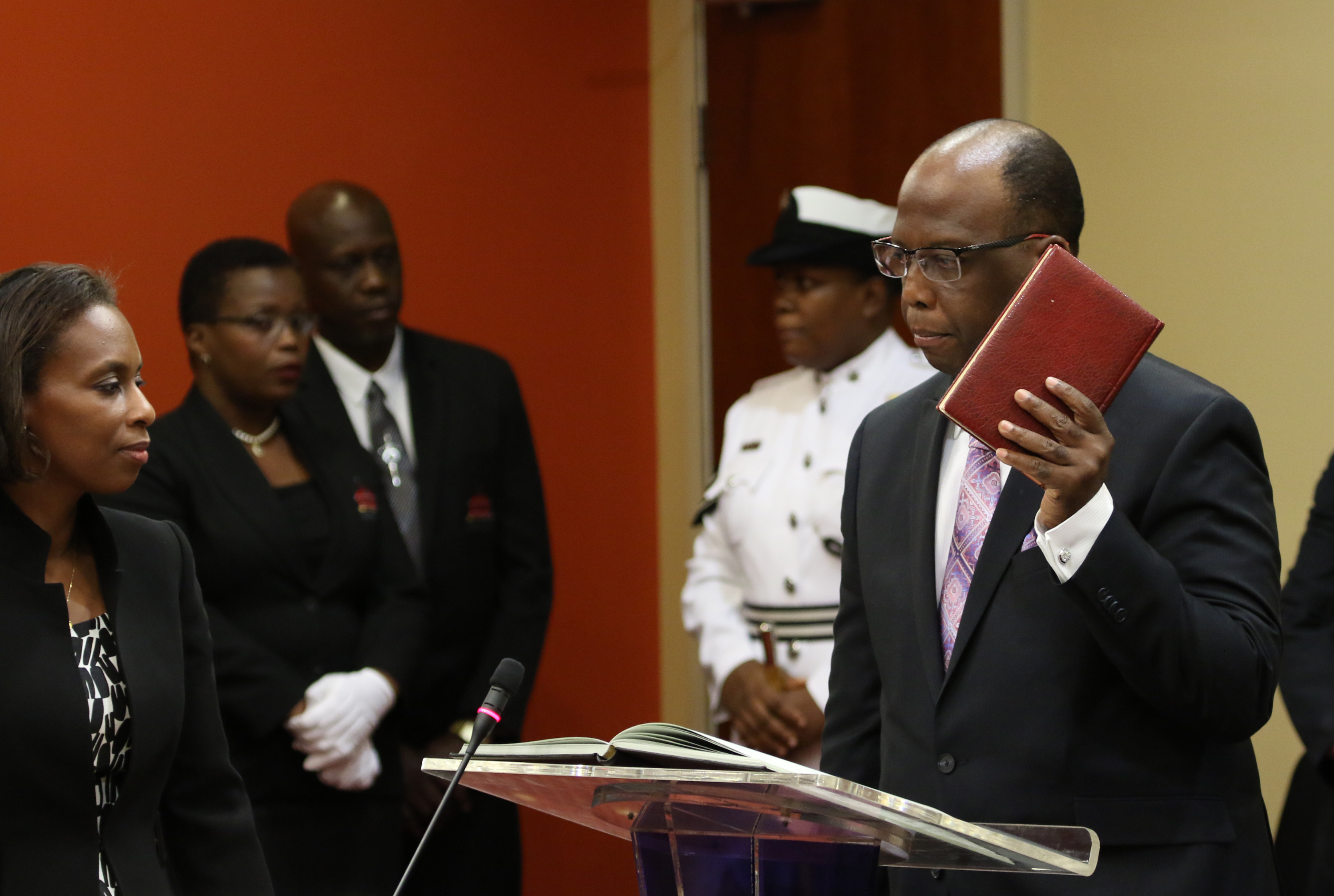 President of Trinidad and Tobago Reappoints David Small